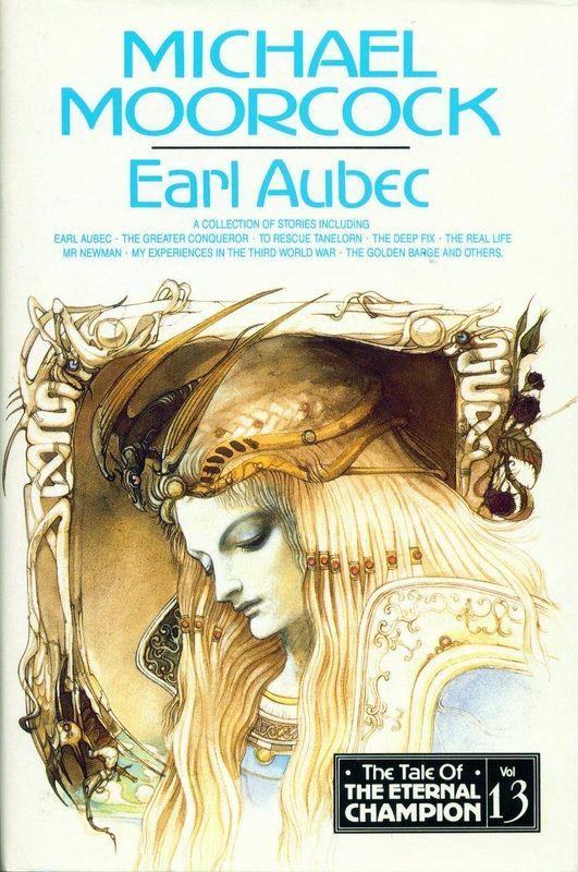 Volume 13 - Earl Aubec - Millennium 1993 - ISBN 1-85798-047-6 - 1st UK Hardback - Blue Boards - Cover art by Yoshitaka Amano