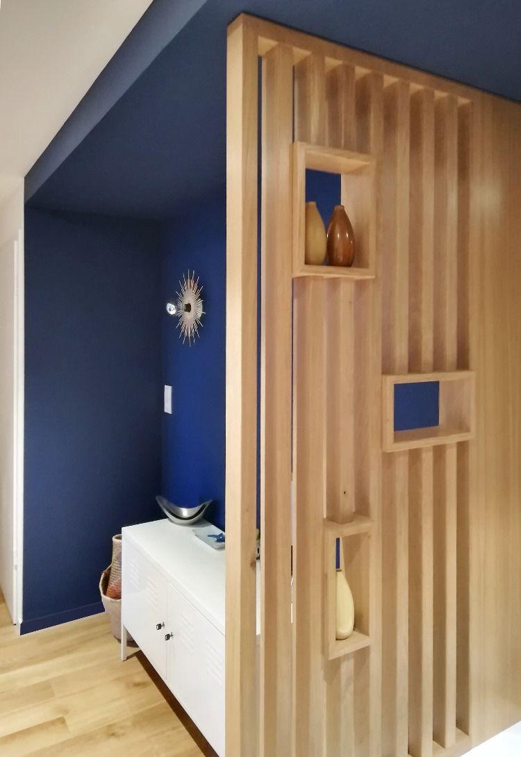 Entree En 2020 Decoration Entree Appartement Deco Entree Maison Claustra Bois Interieur