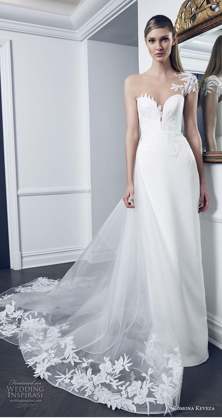 Romona Keveza Collection Bridal Herbst 2018 Brautkleider   Pinterest ...