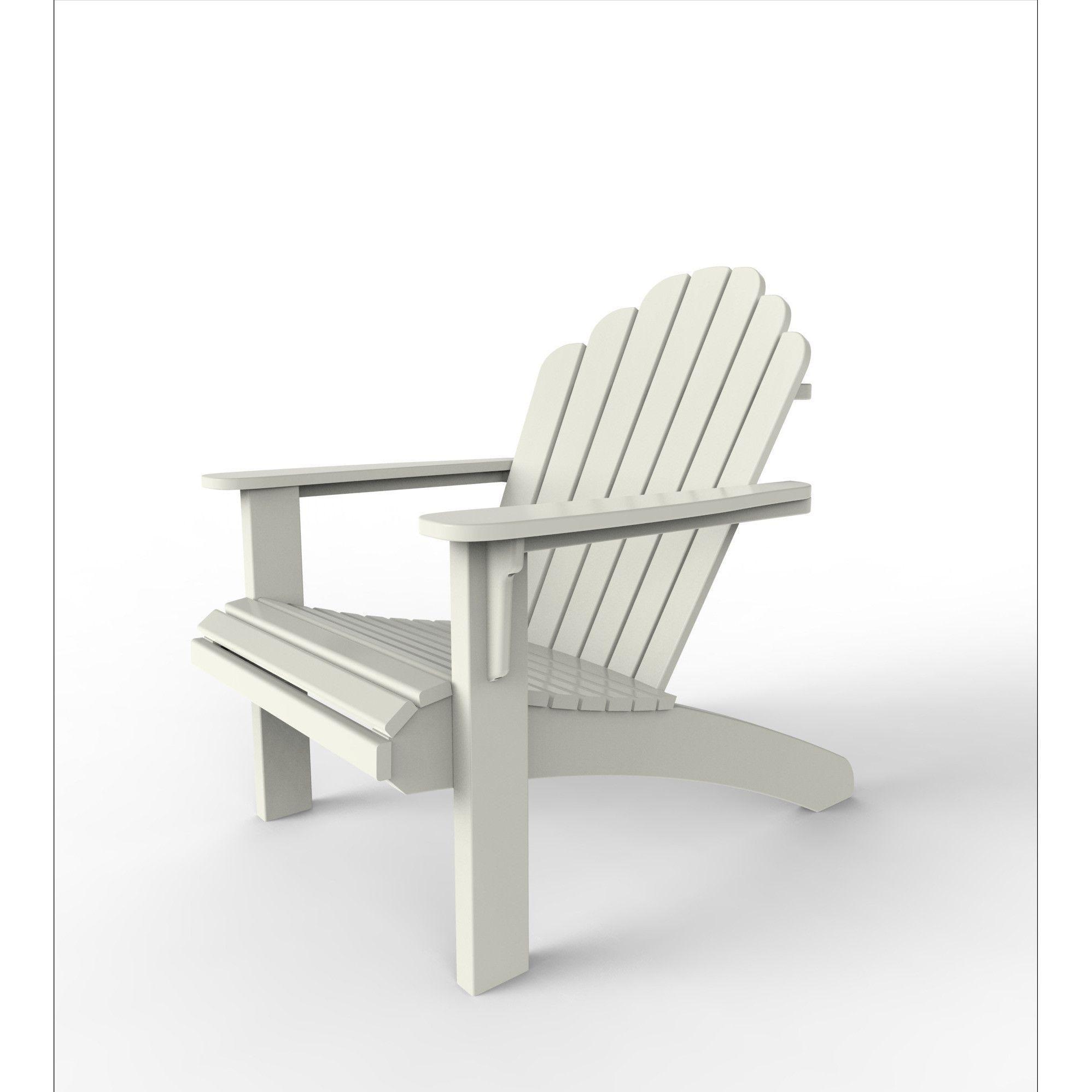 Cool-Living Adirondack Chair White
