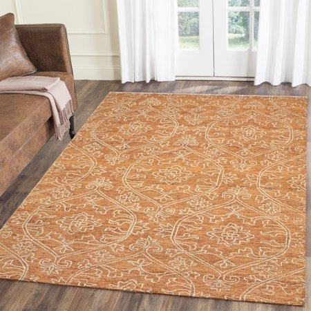 Lr Home Karma 5x8 Rust Indoor Area Rug Size 5 X 7 9 Inch Rugs Area Rugs Colorful Rugs