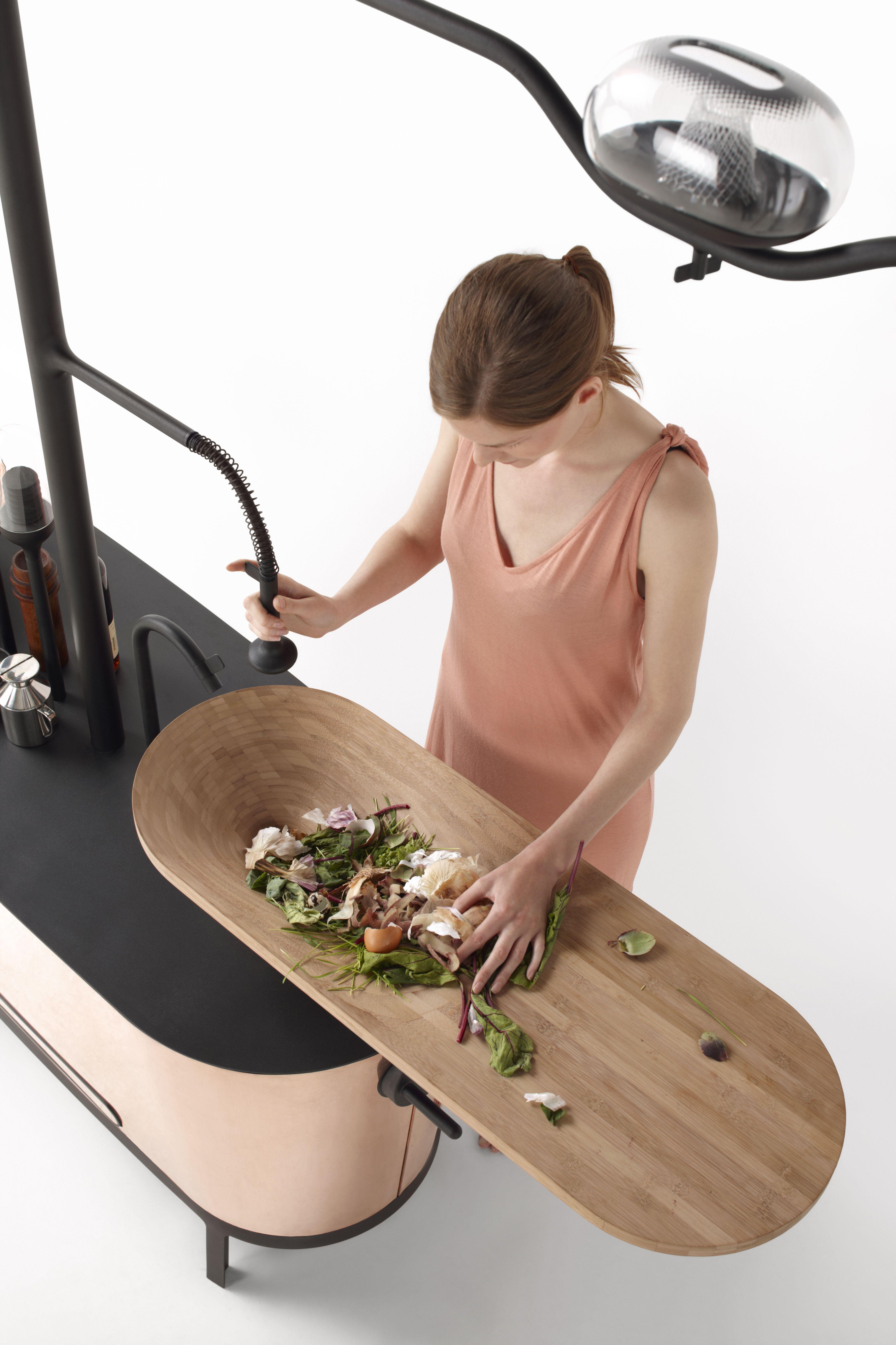 Evier Bois Ecolo Avec Planche A Decouper Cuisine Kitchen