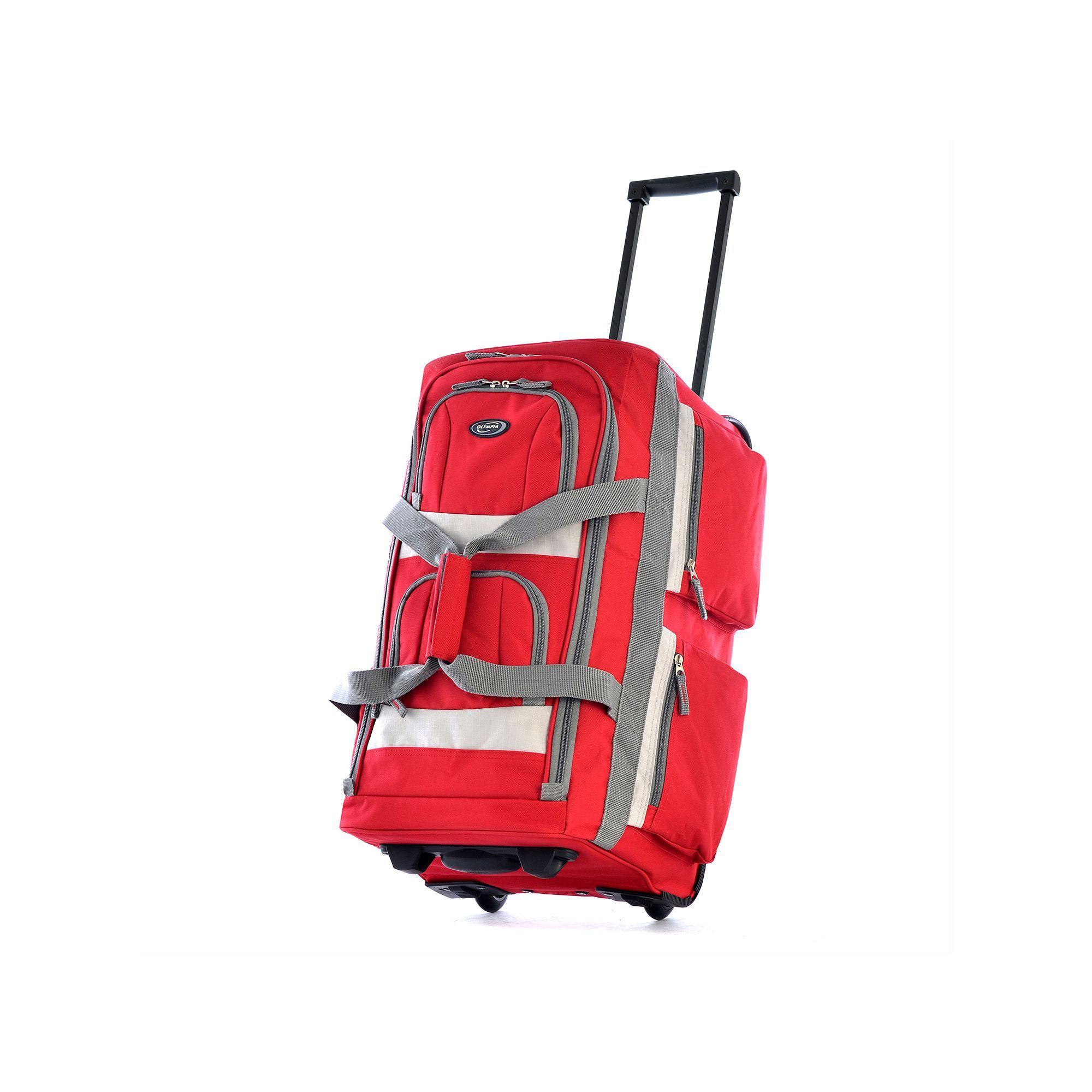 12513e5f26 Olympia 8-Pocket Rolling Duffel Bag in 2019