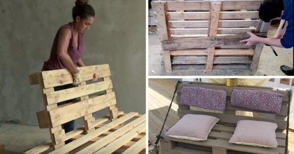 8 Tutos Videos Pour Fabriquer Un Canape En Palette Bonus Deco Fabriquer Un Canape Canape Palette Palette Jardin Canape
