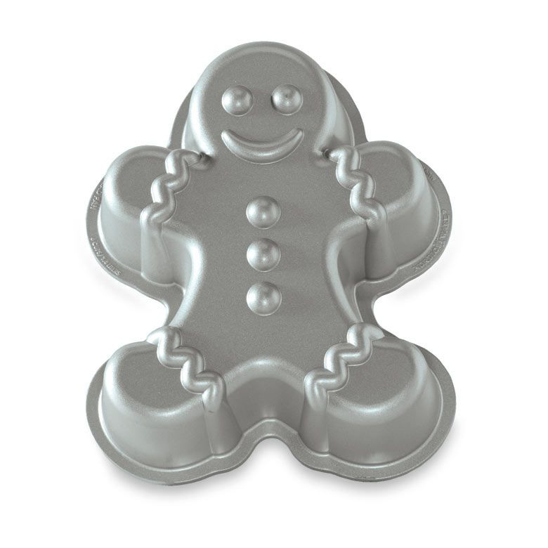 Gingerbread Boy Cake Mold ~ Non-Stick Bakeware by Nordic Ware Made in USA! NEW