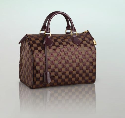 Louis Vuitton Speedy 30 Damier Sequilles