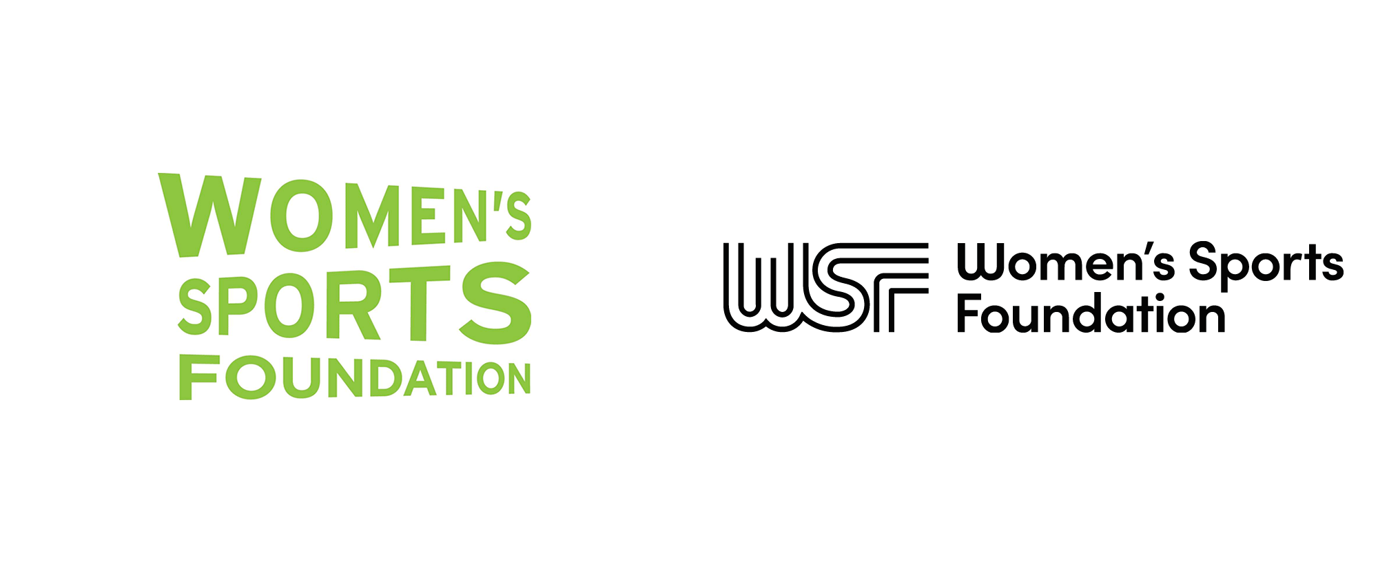 Brand New New Logo for Women's Sports Foundation In Ấn