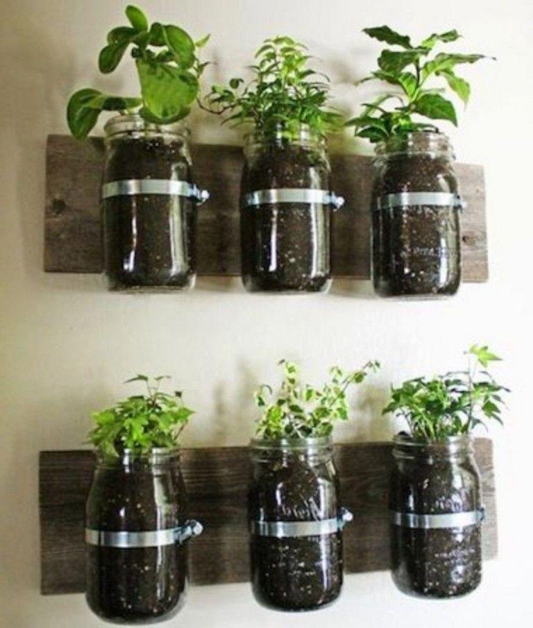 21 stunning indoor wall herb garden ideas gardendesign on indoor herb garden diy wall mason jars id=67793