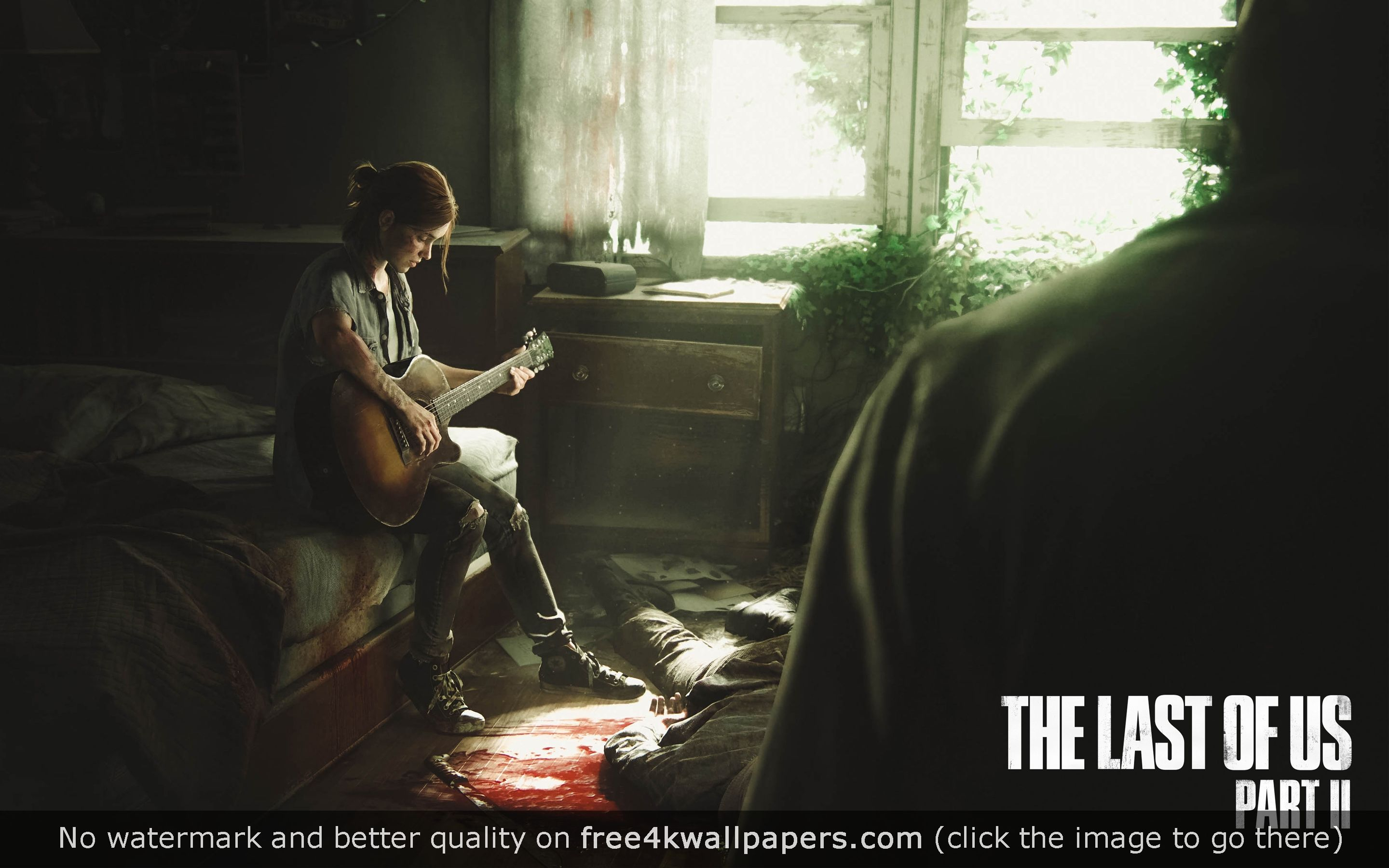 The Last Of Us Part Ii Ellie 4k Hd Wallpaper Download The