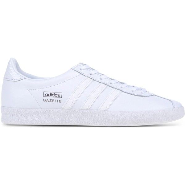 Adidas Originals Low-Tops & Trainers   White leather shoes, White ...