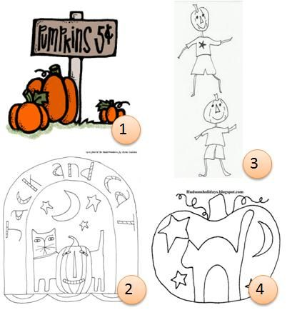 Halloween Embroidery Patterns Sewing Crocheting Embroidery
