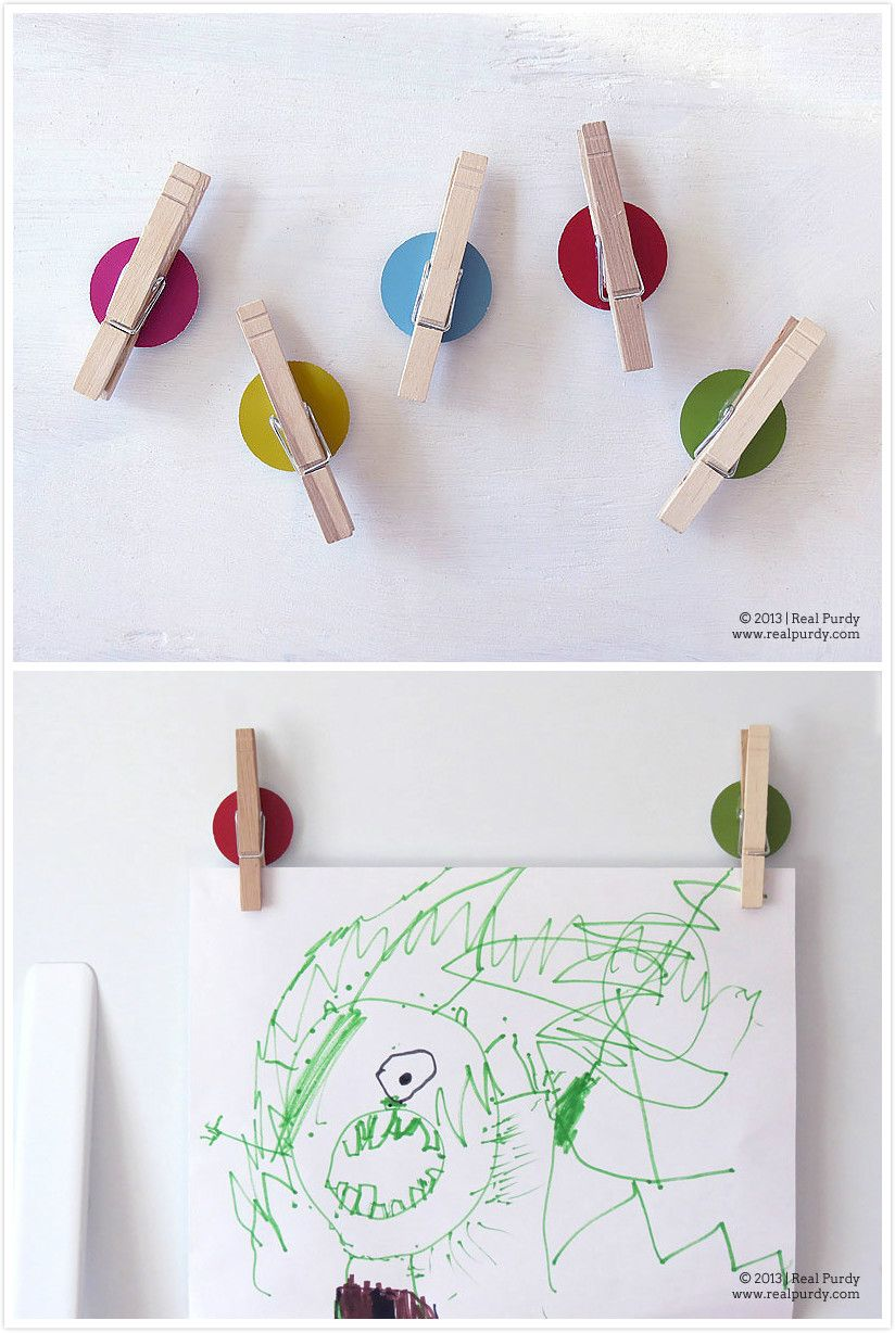 Bright Color Dot Magnets
