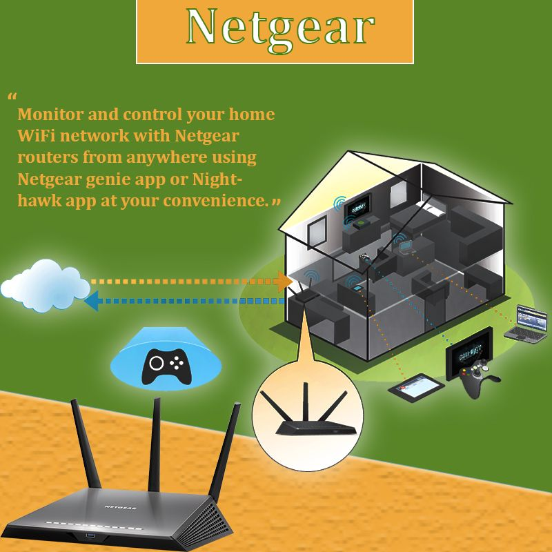 Configure Netgear Routers For High Speed And Broad Range