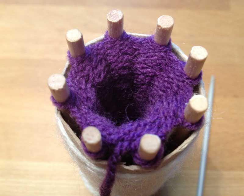 DIY-Strickliesel – DIY-Knitting Nancy   Ms Strickliesel   Pinterest ...