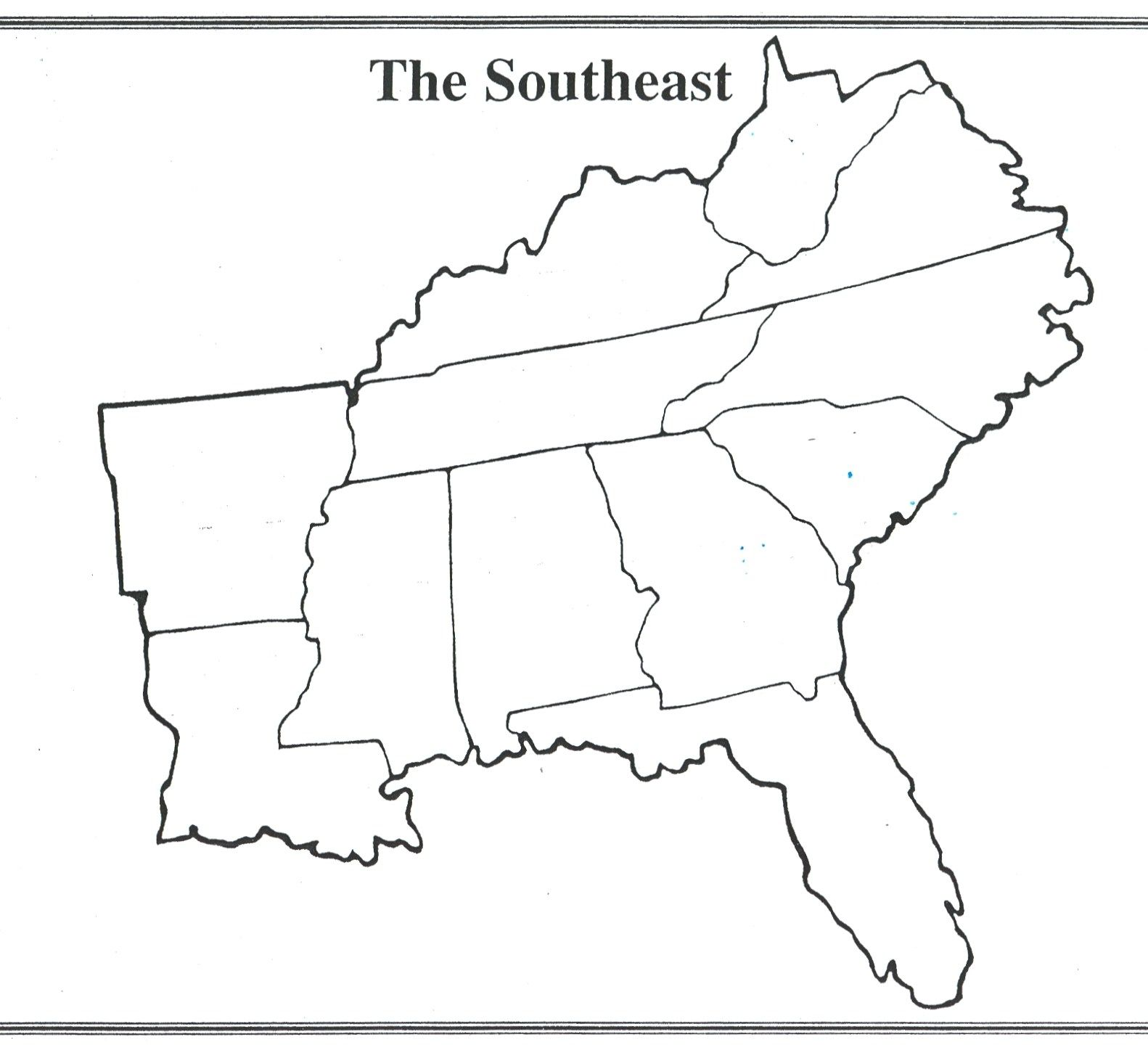 Southeast Us States And Capitals Game Gamesworld