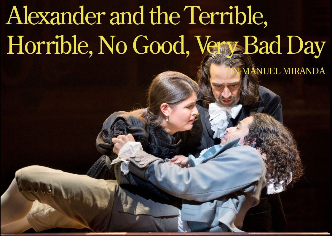 Alexander And The Terrible Horrible No Good Very Bad Day By Lin