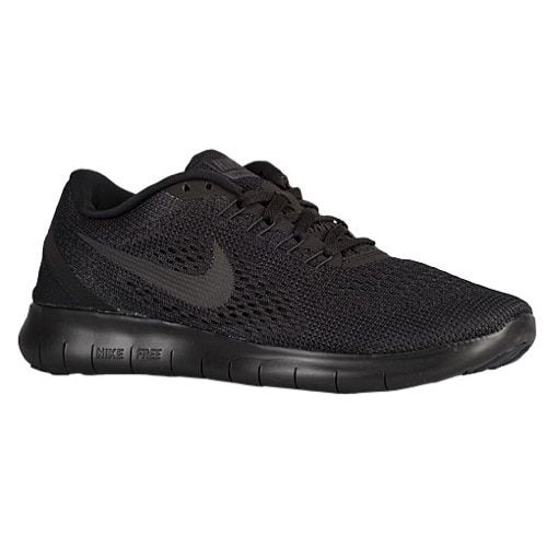 all black nike free run womens