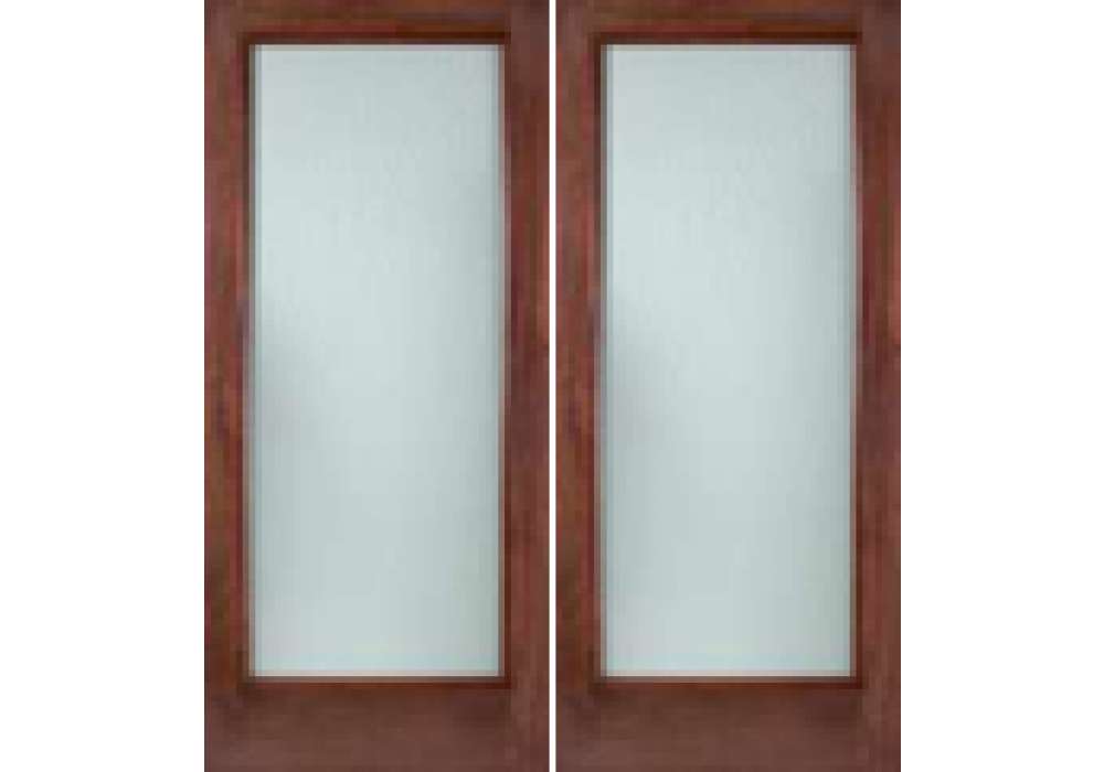 Mahogany 1 Lite Interior Door W White Laminate Glass 1 3 4 Eto Doors French Doors Interior French Doors Discount Interior Doors