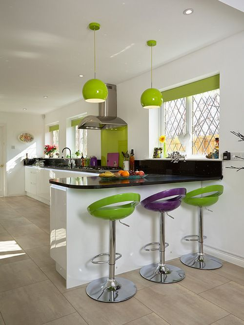 Lime Green Kitchen Ideas Part - 16: 15+ Green Kitchen Cabinets Design, Photos, Ideas U0026 Inspiration