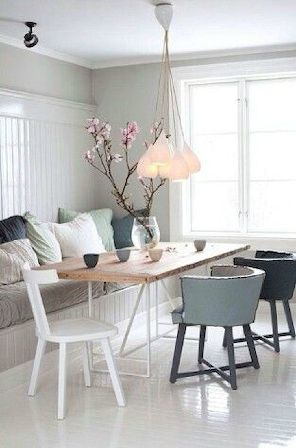 75 Small Dining Room Table & Decor Ideas  Small Dining Rooms Beauteous Scandinavian Dining Room Sets Decorating Design