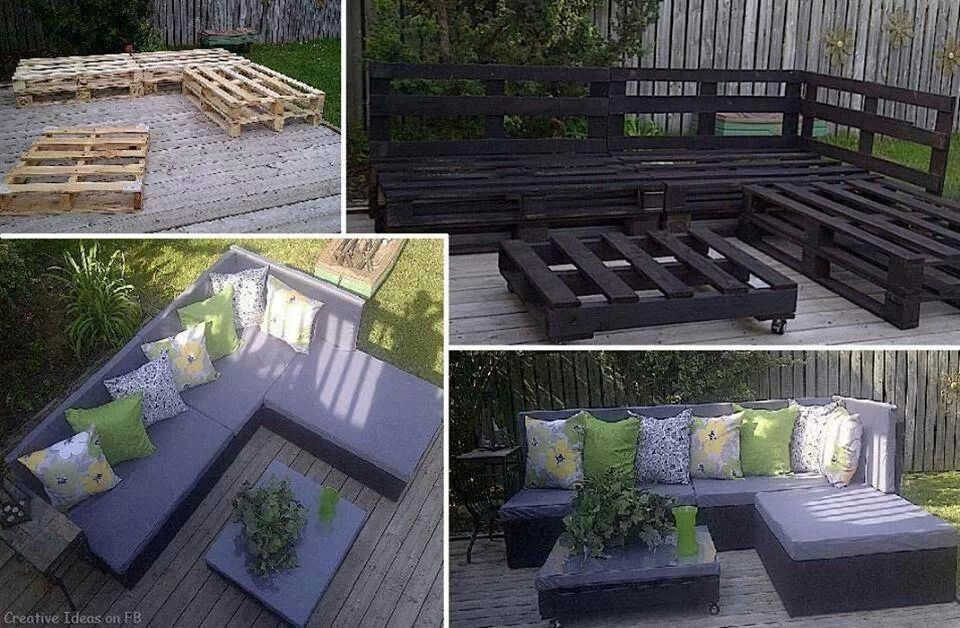 Exceptional Outdoor Furniture Made From Pallets!