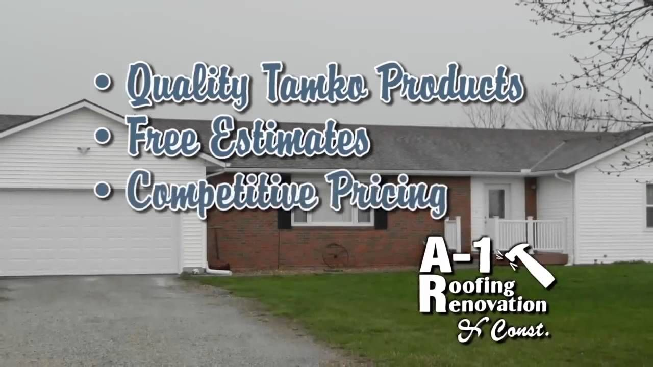 Liked On Youtube A1 Roofing Renovation Construction Company In St Joseph Mo 816 617 6969 Construction Renovation Roofing Renovations