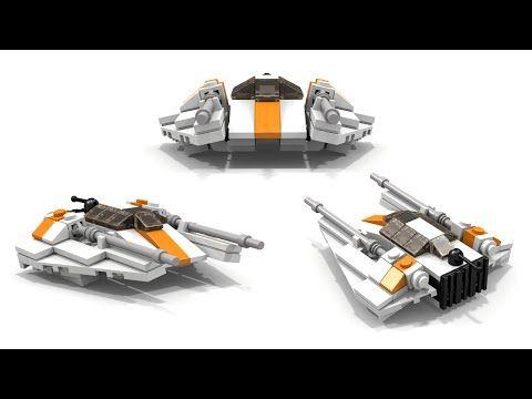 LEGO Star Wars T-47 Airspeeder/Snowspeeder Instructions | Lego ...
