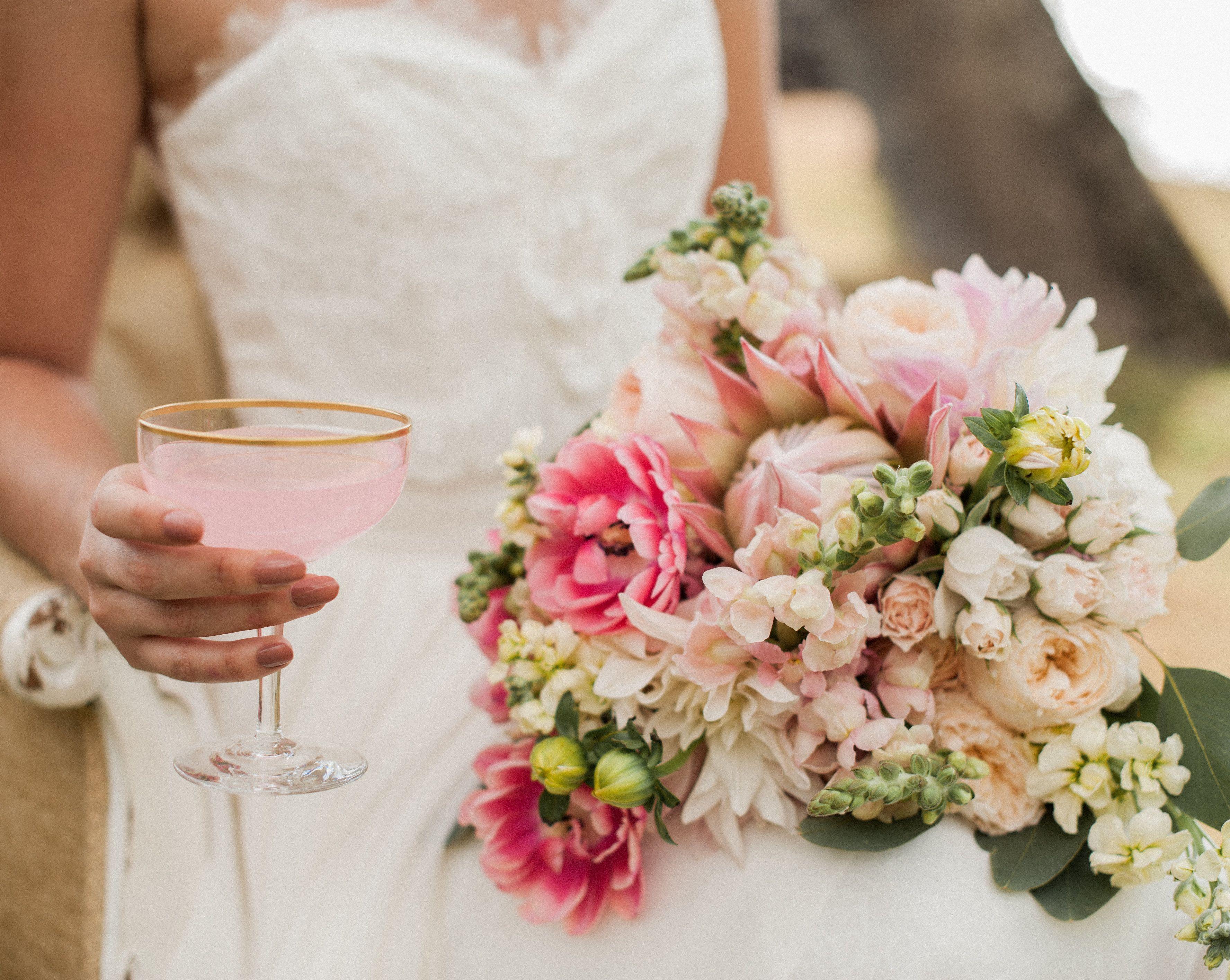 Wedding beach house  Blush toned Hawaiian Wedding at the White Orchid Beach House Design