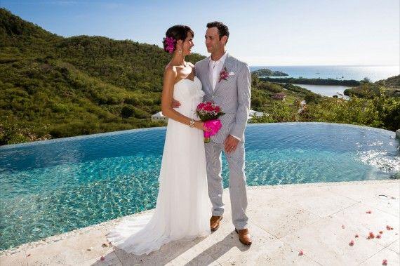 Beach Alternative Wedding Carmichael S At Sugar Ridge Antigua