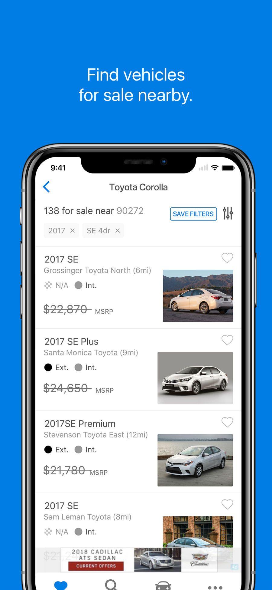 Edmunds appsappappstoreios cars for sale app car shop