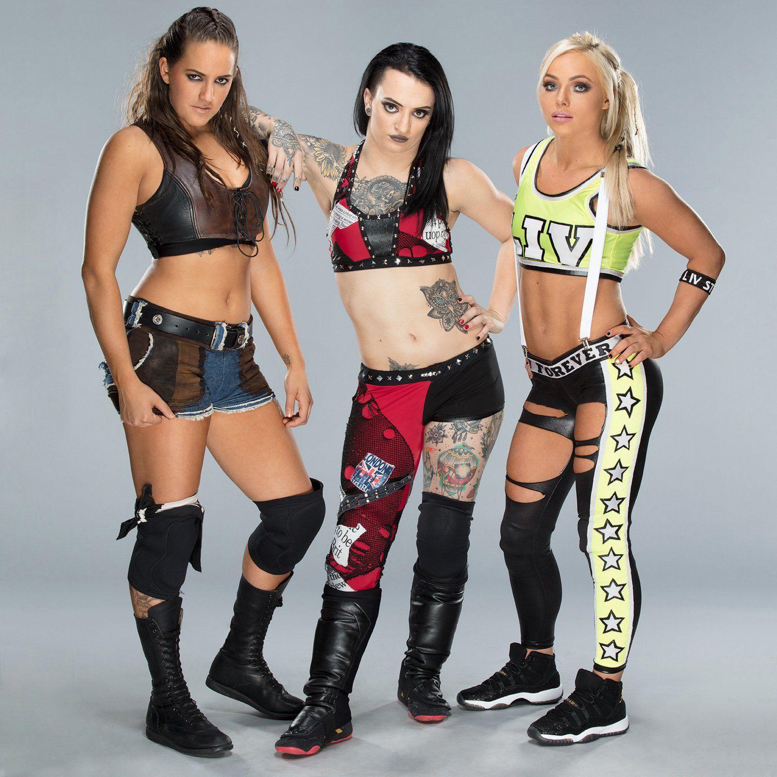 The Riott Squad Wrestling Divas