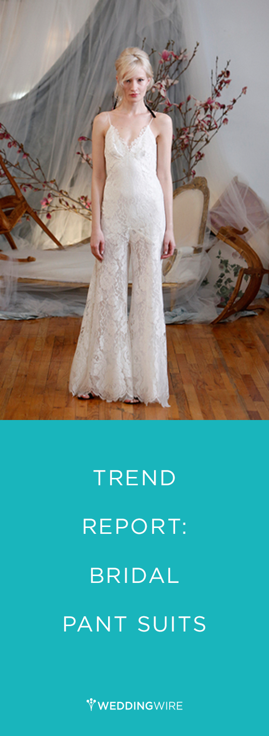 For the bride who would be more comfortable in a modern look, these ...