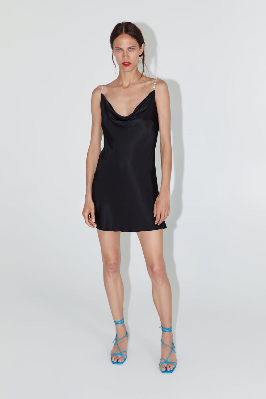 Mini Slip Dress View All Dresses Woman Zara United States Mini Slip Dress Mini Dress Mini Dress Casual [ 1500 x 1000 Pixel ]