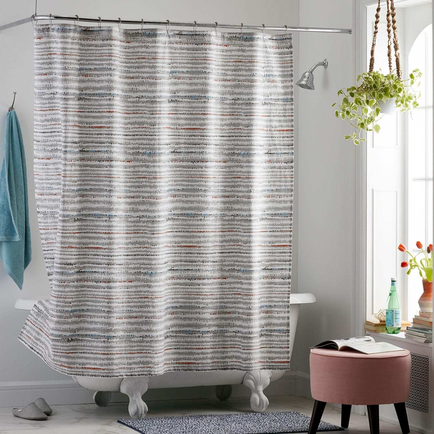 Cstudio Home Trackside Shower Curtain The Company Store