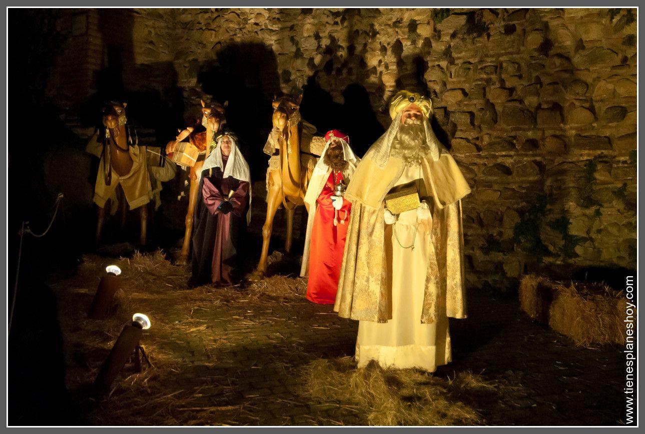 Reyes Magos Belén Viviente Buitrago De Lozoya Belenes Comunidad De Madrid Magos