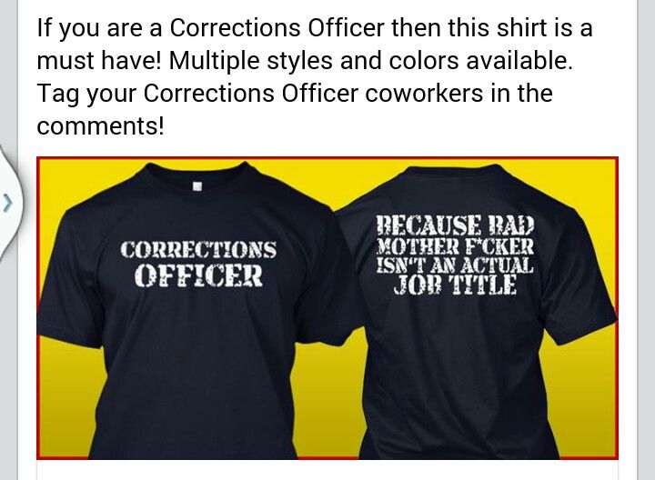 13c3a1e1b Correctional Officer Shirt | Apperal | Department of corrections ...