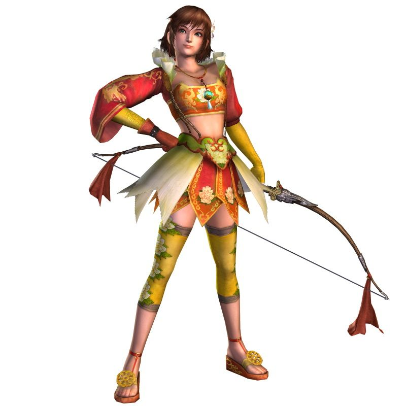 Female Character Dynasty Warriors 6 Wu Dynasty Warriors 6 Dynasty Warriors Warrior
