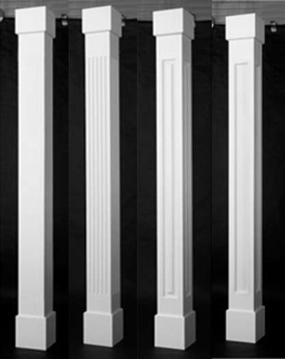 Pvc Column Wraps Porch Column Wraps Porch Columns Front Porch