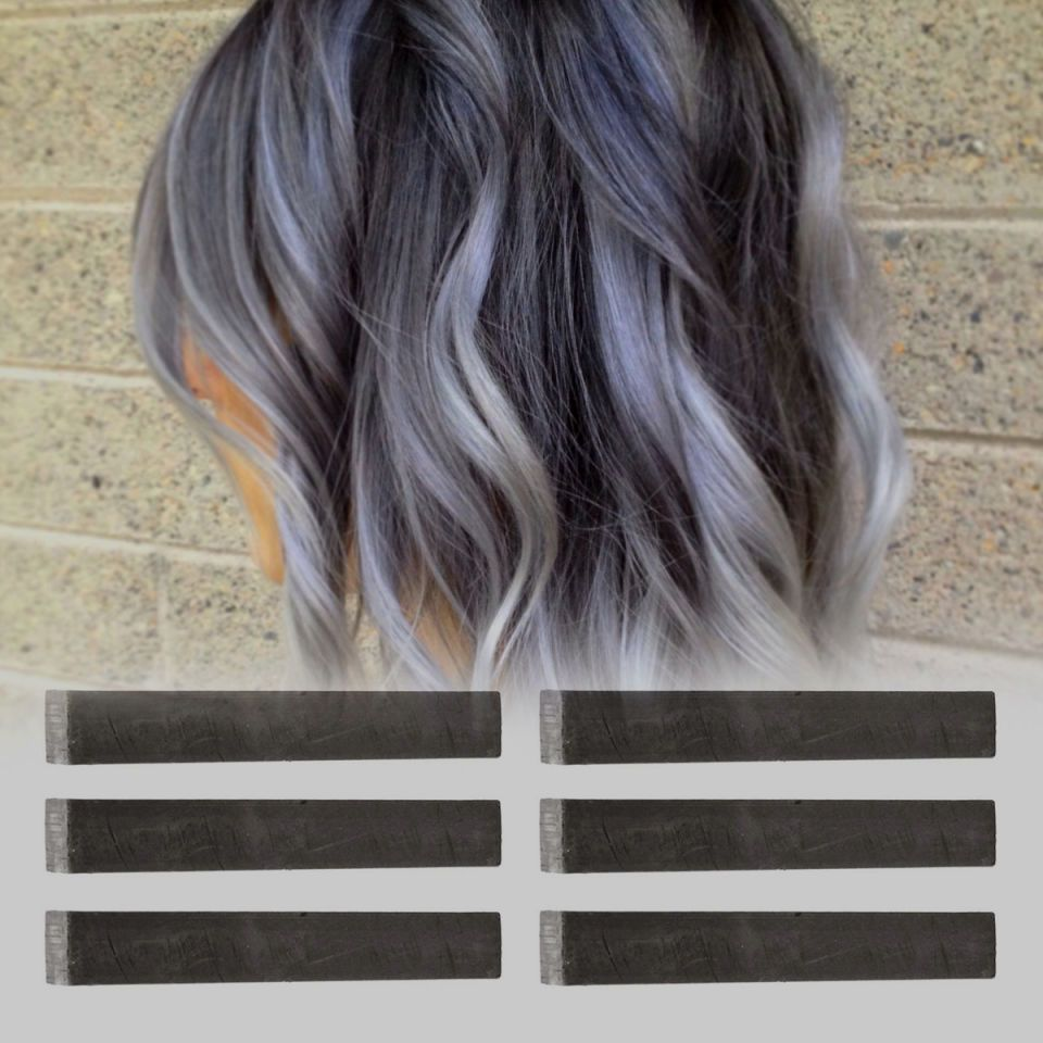 Ash Gray Ombre Hair Dark Brown Hairs Of 22 Model Ash Gray