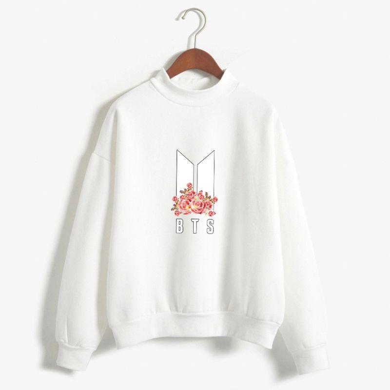 BTS Flower Sweater | dresses in 2019 | Bts hoodie