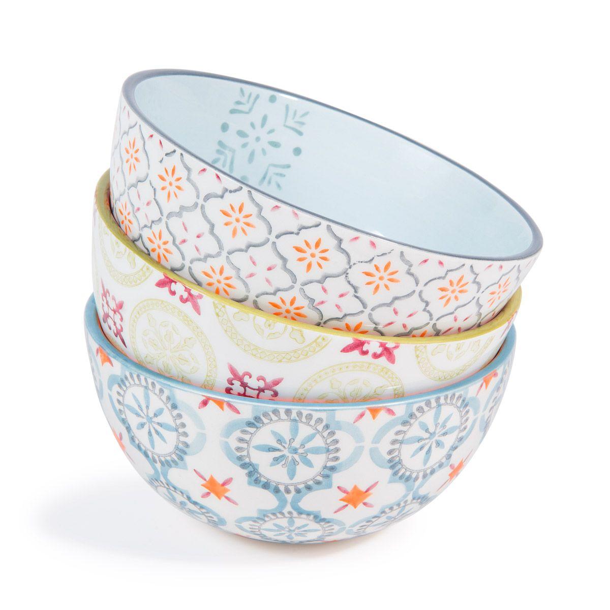 6 Bols En Faience Constantine Maisons Du Monde Con Immagini Tazze Ceramica Oggetti