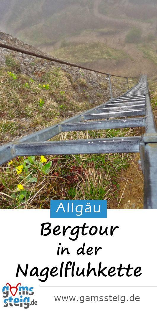 Bergtour in der Nagelfluhkette im Allgäu
