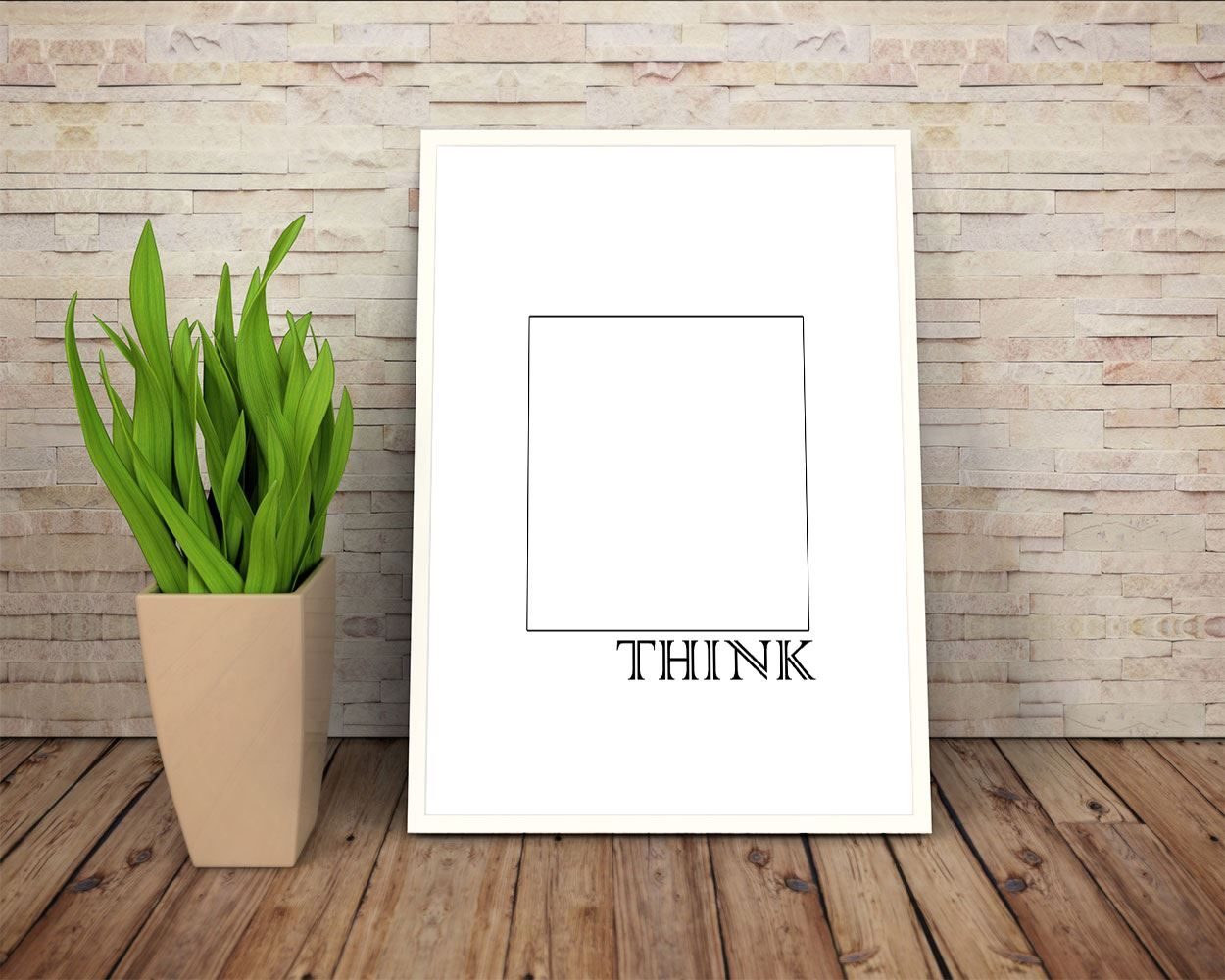Wall decor think outside the box printable think outside the box