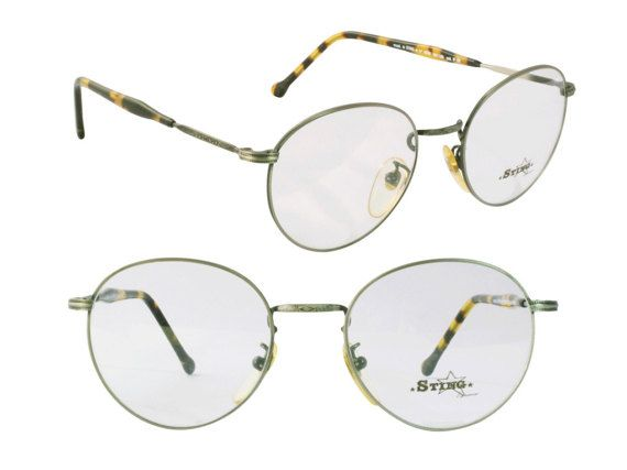 2104ccb9a2c Sting vintage round glasses 80s