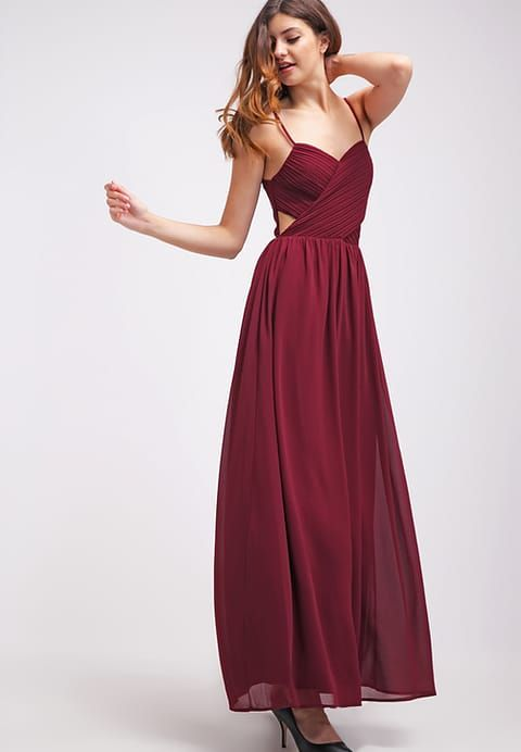 Kleid abiball bordeaux
