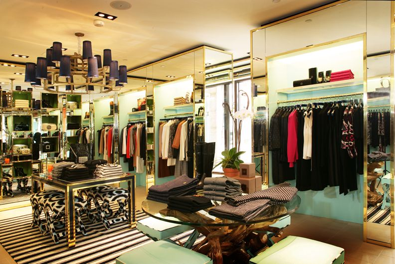 I want my closet to look like this This is the Tory Burch Boutique