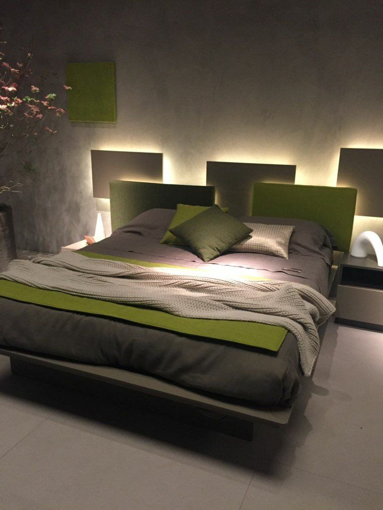 Grau: wie es im Schlafzimmer zu integrieren? - http://schickmobel ...