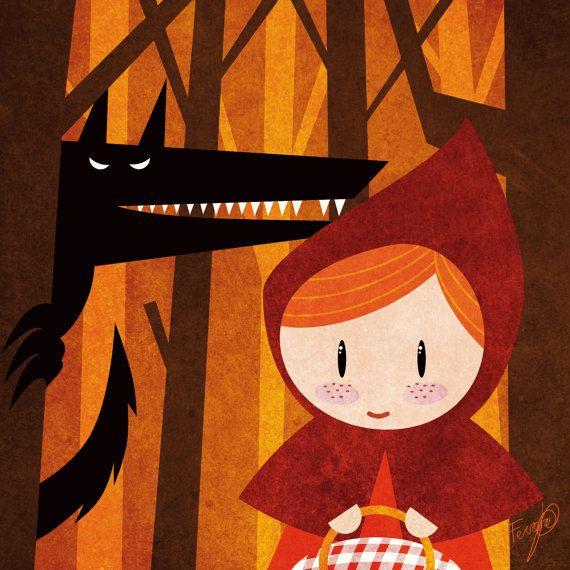 Cuentos Caperucita Roja In 2020 Red Riding Hood Art Red Riding Hood Red Riding Hood Wolf