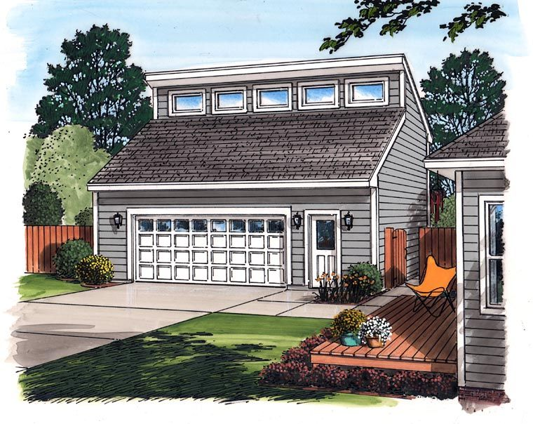Contemporary Garage Plan 30010 Studio Ideas Pinterest Garage