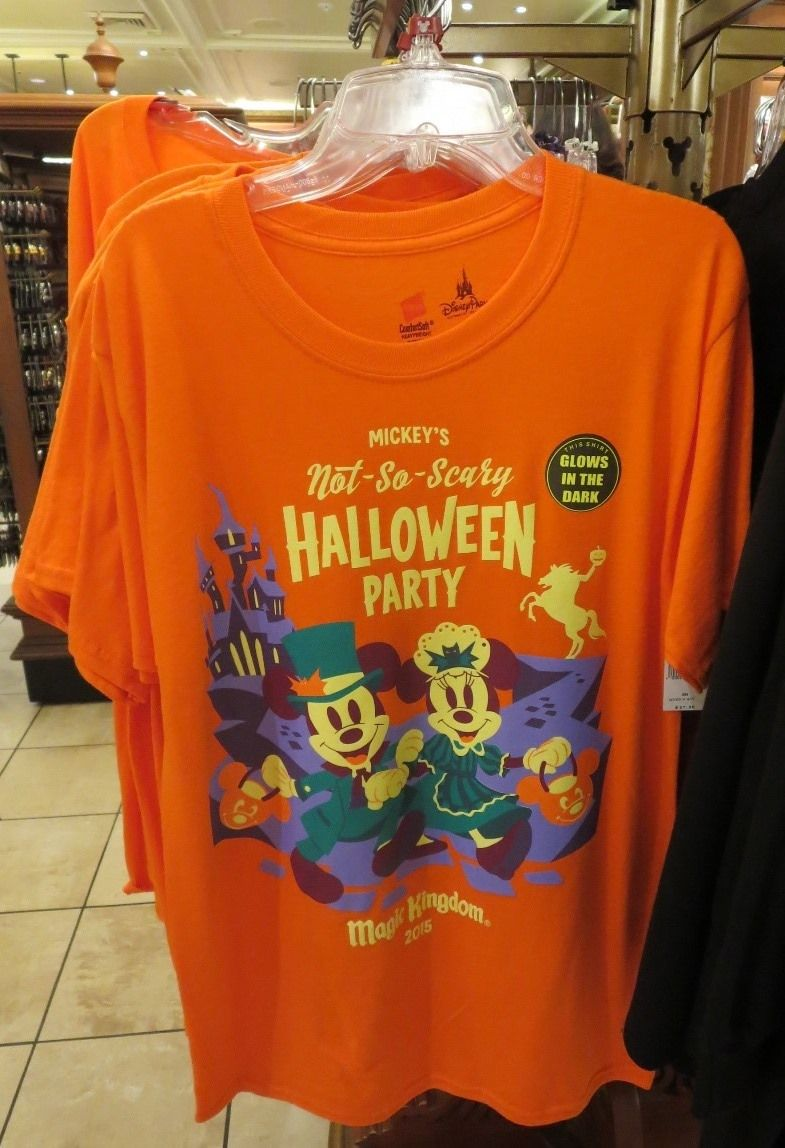 Mickey's Not So Scary Halloween Party T-shirt. (Magic Kingdom ...